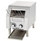 "Bartscher Broodrooster-through ""Mini"" roestvrij staal | 75 toast / h | 290x440x385 mm"