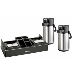 Bartscher Coffee station including 2 thermo pump jugs