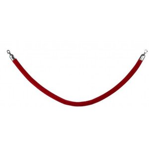 Saro Rope Barrier | red | length. 1500 mm