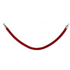 Saro Seilabsperrung | rot | Länge. 1500 mm