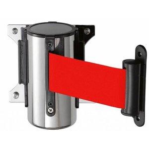 Saro System odgradzający do montażu ściennego | czerwony | dł. 2000mm