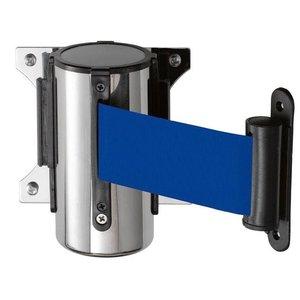 Saro System odgradzający do montażu ściennego | niebieski | dł. 3000 mm