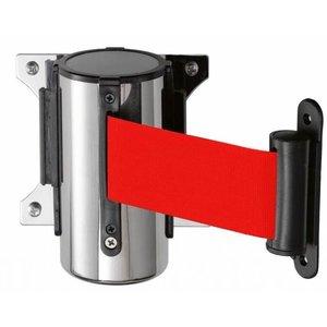 Saro System odgradzający do montażu ściennego | czerwony | dł. 3000 mm