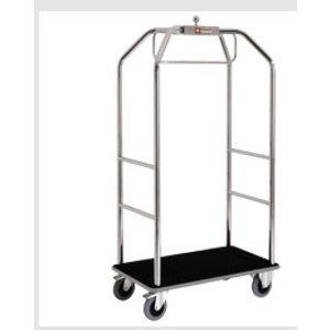 Diamond Wózek hotelowy z hamulcami | 986x590x(H)1890 mm | 45 kg