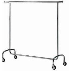 Diamond Hanger hotel for clothes chrome | 1540x520xh1540 | 11 kg
