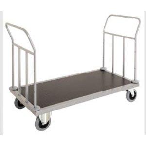 Diamond Wózek hotelowy z podwójnym uchwytem | 1440x660x(H)950 mm | 49 kg