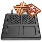 Neumarker Waffle plate | X-waffel | 2 x 108x108x20 mm
