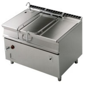 RM GASTRO Electric frying pan tilt | 120L | 18kW