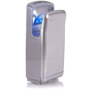 XXLselect Pocket hand dryer Warmtec JetFlow 1650 1650W, automatic, silver, ABS