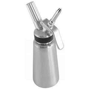 Soda Pluss Siphon slagroom roestvrij staal | 0.5L