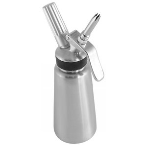 Soda Pluss Siphon whipped cream stainless steel | 0.5L