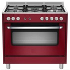 Saro 5-burner gas cooker - multi-function electric oven
