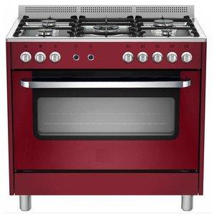 Saro 5-palnikowa kuchnia gazowa - wielofunkcyjny piekarnik elektryczny