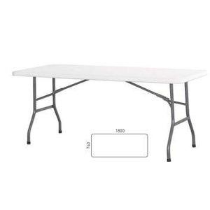 Hendi Stół cateringowy składany | 1800x740x(H)740mm