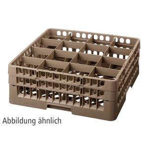 Bartscher Kosz do zmywarek, 16 przegród - max. wys. 266mm - 111x111x245mm