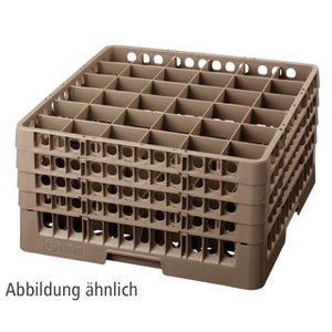 Bartscher Kosz do zmywarek, 36 przegród - max. wys. 306mm - 73x73x285mm