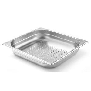 Hendi Pojemnik GN 2/3 perforowany | Kitchen Line | wys. 65mm