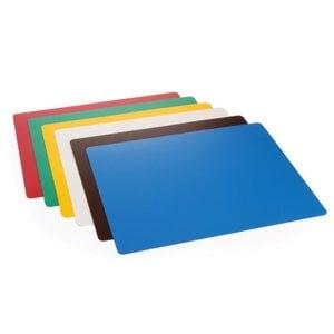 Hendi Podkładki do krojenia HACCP w różnych kolorach | 6szt. | 380x305x(H)1,4mm
