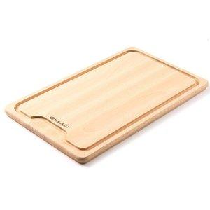 Hendi Drewniana deska z wycięciem do krojenia mięsa | 390x230mm