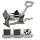 Hendi Potato cutting machine | 4 interchangeable blades | 430x168x (H) 290 mm