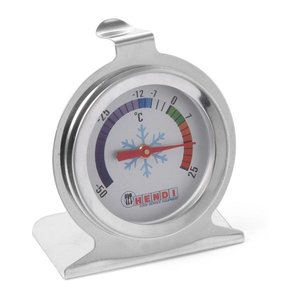 Hendi Termometr uniwersalny do mroźni i lodówek | -50/25st.C