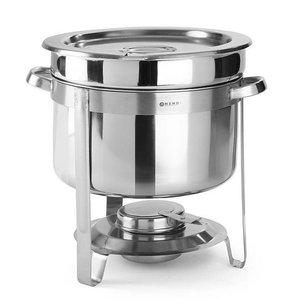Hendi Podgrzewacz do zup na pastę Economic | śr.370x(H)325mm | 10L