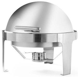 Hendi Podgrzewacz na pastę Rolltop | okrągły | 510x540x(H)480mm | 5,6L