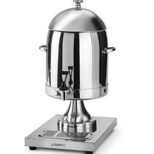 Hendi Dyspenser do mleka ze stali nierdzewnej | 10,5L | 260x360x(H)536mm