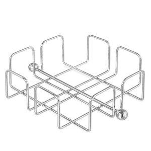 Hendi Serwetnik stalowy | kwadratowy | 190x190x(H)65mm