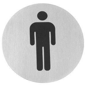 Hendi Tabliczka informacyjna samoprzylepna | mężczyźni | śr.75mm