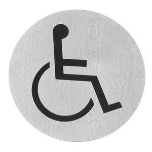 Hendi Tabliczka informacyjna samoprzylepna | dla niepełnosprawnych | śr.75mm