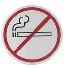 Hendi Een sticker zelfklevend   rookvrij   śr.75mm