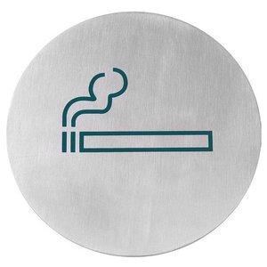 Hendi Tabliczka informacyjna samoprzylepna | miejsce przeznaczone dla palących | śr.160mm