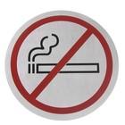 Hendi Een sticker zelfklevend   rookvrij   śr.160mm