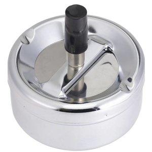 Hendi Popielnica z obrotowym przyciskiem | śr.90x(H)45mm