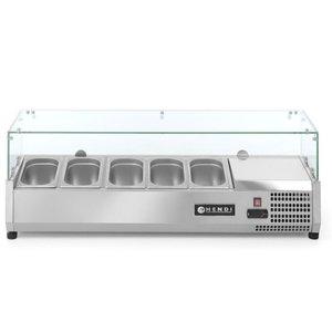 Hendi Nadstawa chłodnicza 5x GN 1/4 | 1200x335x(H)430mm