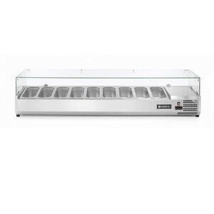 Hendi Nadstawa chłodnicza 9x GN 1/3 | 2000x395x(H)430mm