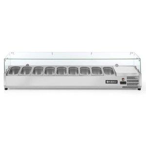Hendi Nadstawa chłodnicza 9x GN 1/4   1800x335x(H)430mm