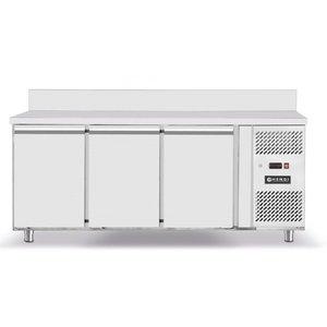 Hendi Stół mroźniczy 3-drzwiowy z agregatem bocznym | 420L | 1795x700x(H)850mm | -18/-22st.C