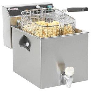 Hendi Frytownica Mastercook z kranem spustowym oraz zimną strefą | 8L | 3500W | 230V