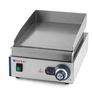 Hendi Płyta grillowa elektryczna gładka nastawna | 330x270mm | 2000W
