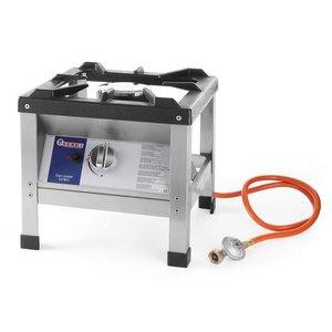 Hendi Taboret gazowy Kitchen Line | 6,4kW | 425x425x(H)400mm