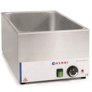 Hendi Bemar Kitchen Line GN 1/1 | 1200W | 340x540x(H)250mm