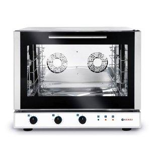 Hendi Piec piekarniczy konwekcyjny z nawilżaniem 4 x 600x400mm | elektryczny| sterowanie manualne | 400V | 64kW