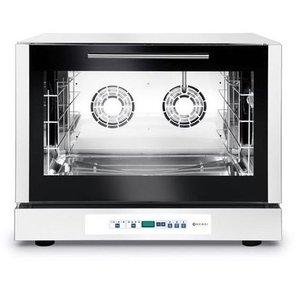 Hendi Piec piekarniczy konwekcyjny z nawilżaniem 4 x 600x400mm | elektryczny | sterowanie elektroniczne | 400V | 6,4kW
