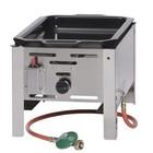 Hendi Bratpfanne Gas backen Master mini   290x480mm   5,8kW   340x540x (H) 300mm