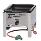 Hendi Frying Pan Gas bake master mini | 290x480mm | 5,8kW | 340x540x (H) 300mm