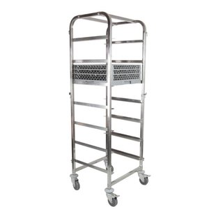 Hendi Wózek do transportu koszy do zmywarki 7 x 500x500mm | 630x700x(H)1700mm