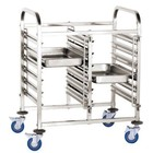 Hendi Powójny trolley to transport containers 12 x GN1 / 1   740x550x (H) of 1000 mm