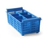 Hendi Container voor bestek | 8 gedeeltelijke | 425x205x (H) 150 mm